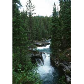 Rockies Canada Waterfall