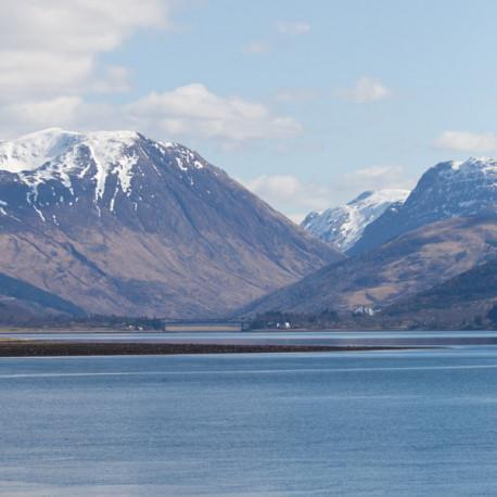 Loch Linnghe Scotland