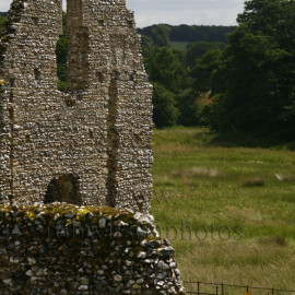Castle Acre Priory Wall